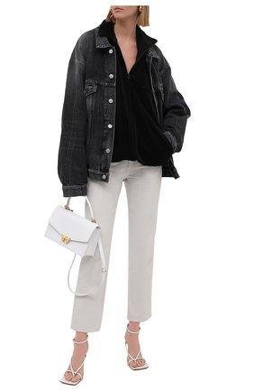 Женская куртка BALENCIAGA черного цвета, арт. 659098/TKQ12 | Фото 2