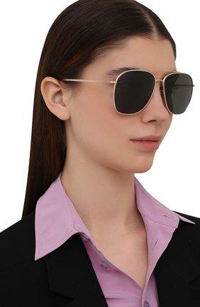 Женские солнцезащитные очки OLIVER PEOPLES черного цвета, арт. 1278ST-5292P1 | Фото 2