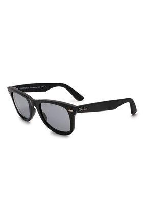 Женские солнцезащитные очки RAY-BAN черного цвета, арт. 2140-6495R5 | Фото 1