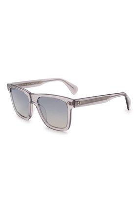 Женские солнцезащитные очки OLIVER PEOPLES серого цвета, арт. 5444SU-11326I | Фото 1