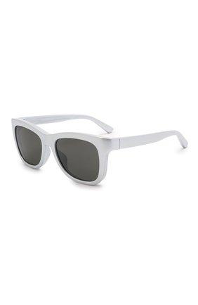 Женские солнцезащитные очки BALENCIAGA серебряного цвета, арт. BB0151S 003 | Фото 1