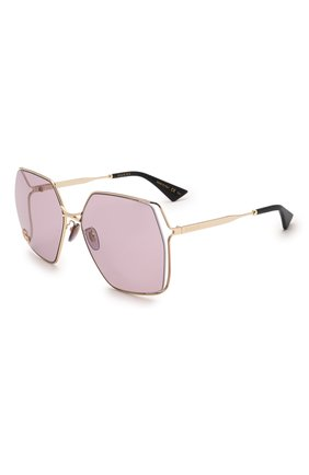 Женские солнцезащитные очки GUCCI сиреневого цвета, арт. GG0817S 007 | Фото 1