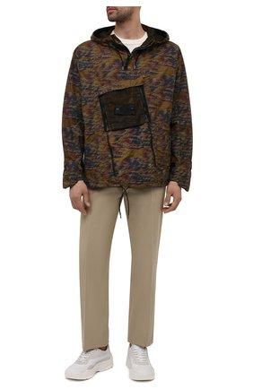 Мужская анорак STONE ISLAND SHADOW PROJECT хаки цвета, арт. 741940103 | Фото 2