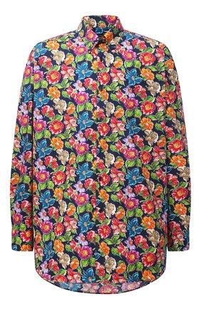 Мужская хлопковая рубашка PAUL&SHARK разноцветного цвета, арт. 21413434/C00 | Фото 1