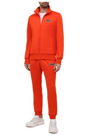 Мужские джоггеры VALENTINO оранжевого цвета, арт. WV3MD03E7ML | Фото 2