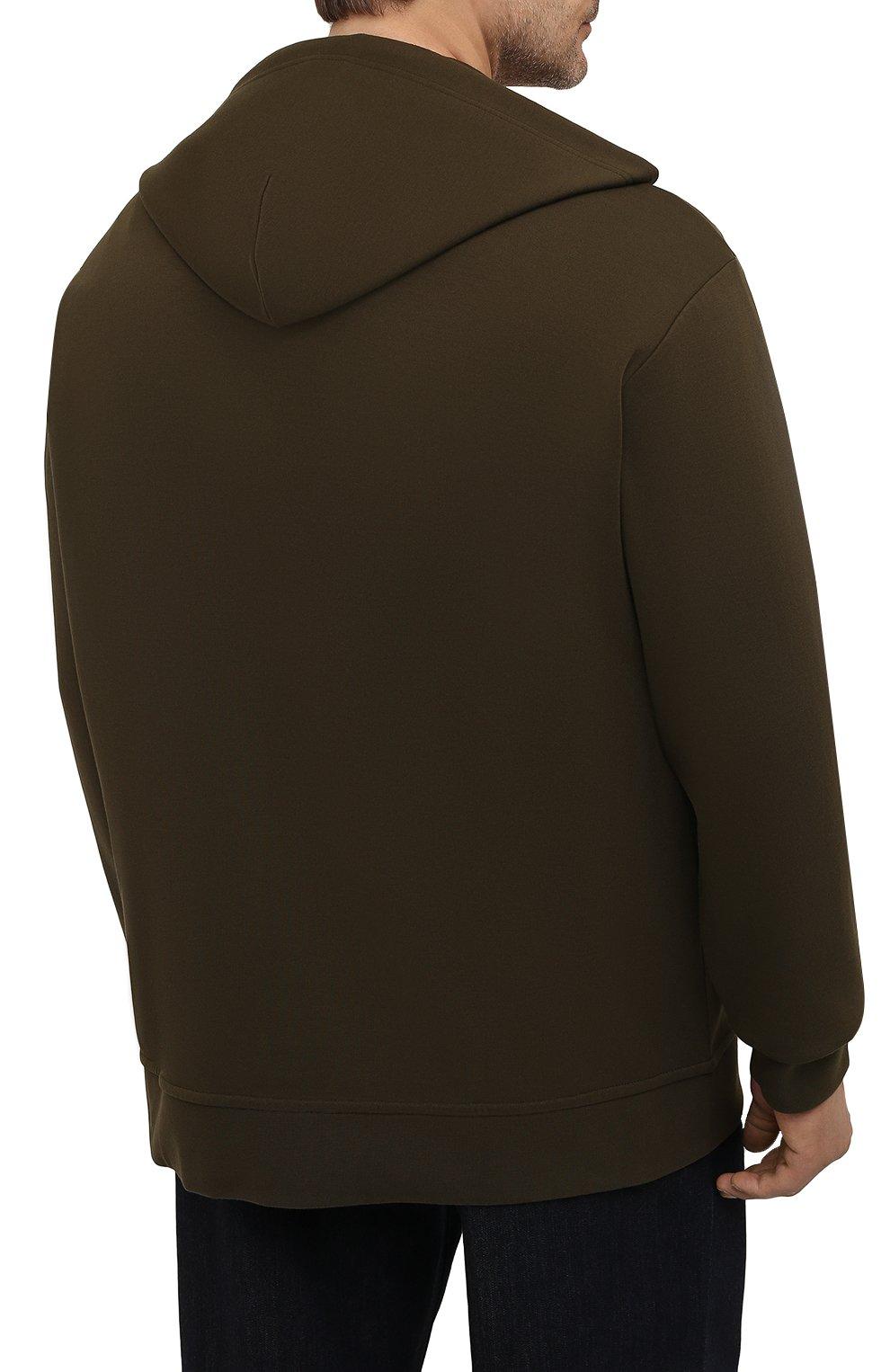 Мужской толстовка POLO RALPH LAUREN хаки цвета, арт. 711652313/PRL BS   Фото 4 (Big sizes: Big Sizes; Рукава: Длинные; Мужское Кросс-КТ: Толстовка-одежда; Материал внешний: Синтетический материал, Хлопок; Длина (для топов): Удлиненные; Стили: Спорт-шик)