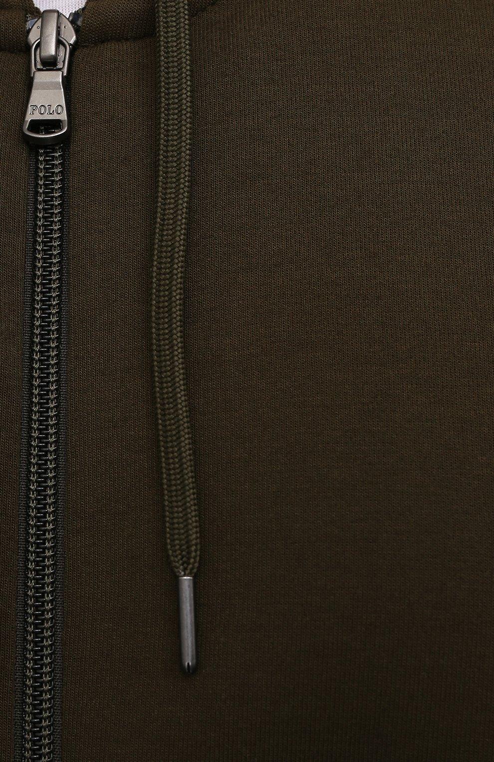 Мужской толстовка POLO RALPH LAUREN хаки цвета, арт. 711652313/PRL BS   Фото 5 (Big sizes: Big Sizes; Рукава: Длинные; Мужское Кросс-КТ: Толстовка-одежда; Материал внешний: Синтетический материал, Хлопок; Длина (для топов): Удлиненные; Стили: Спорт-шик)