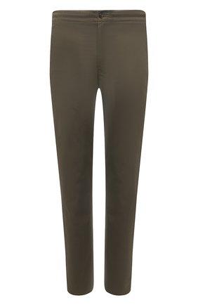 Мужские хлопковые брюки POLO RALPH LAUREN хаки цвета, арт. 710740566 | Фото 1