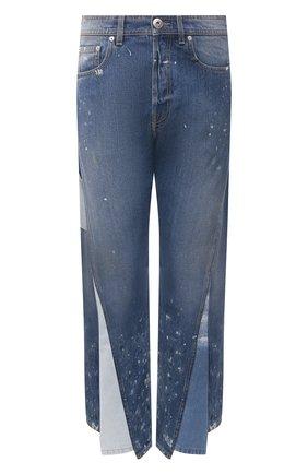 Мужские джинсы lanvin x gallery dept LANVIN темно-синего цвета, арт. RM-TR0076-D008-E21 | Фото 1