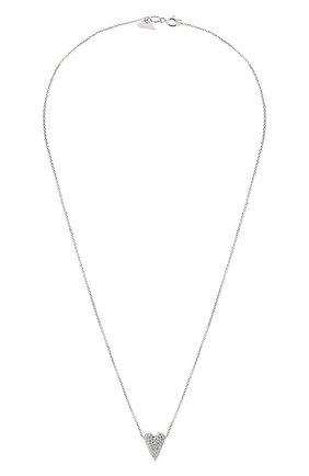 Женская подвеска-сердце на цепочке AVGVST BY NATALIA BRYANTSEVA серебряного цвета, арт. 225860-01   Фото 1