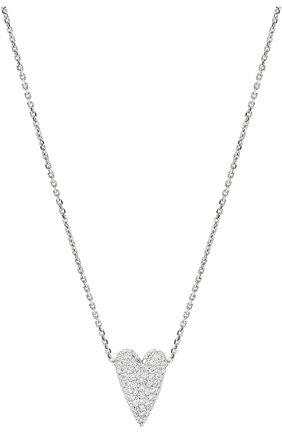 Женская подвеска-сердце на цепочке AVGVST BY NATALIA BRYANTSEVA серебряного цвета, арт. 225860-01   Фото 2