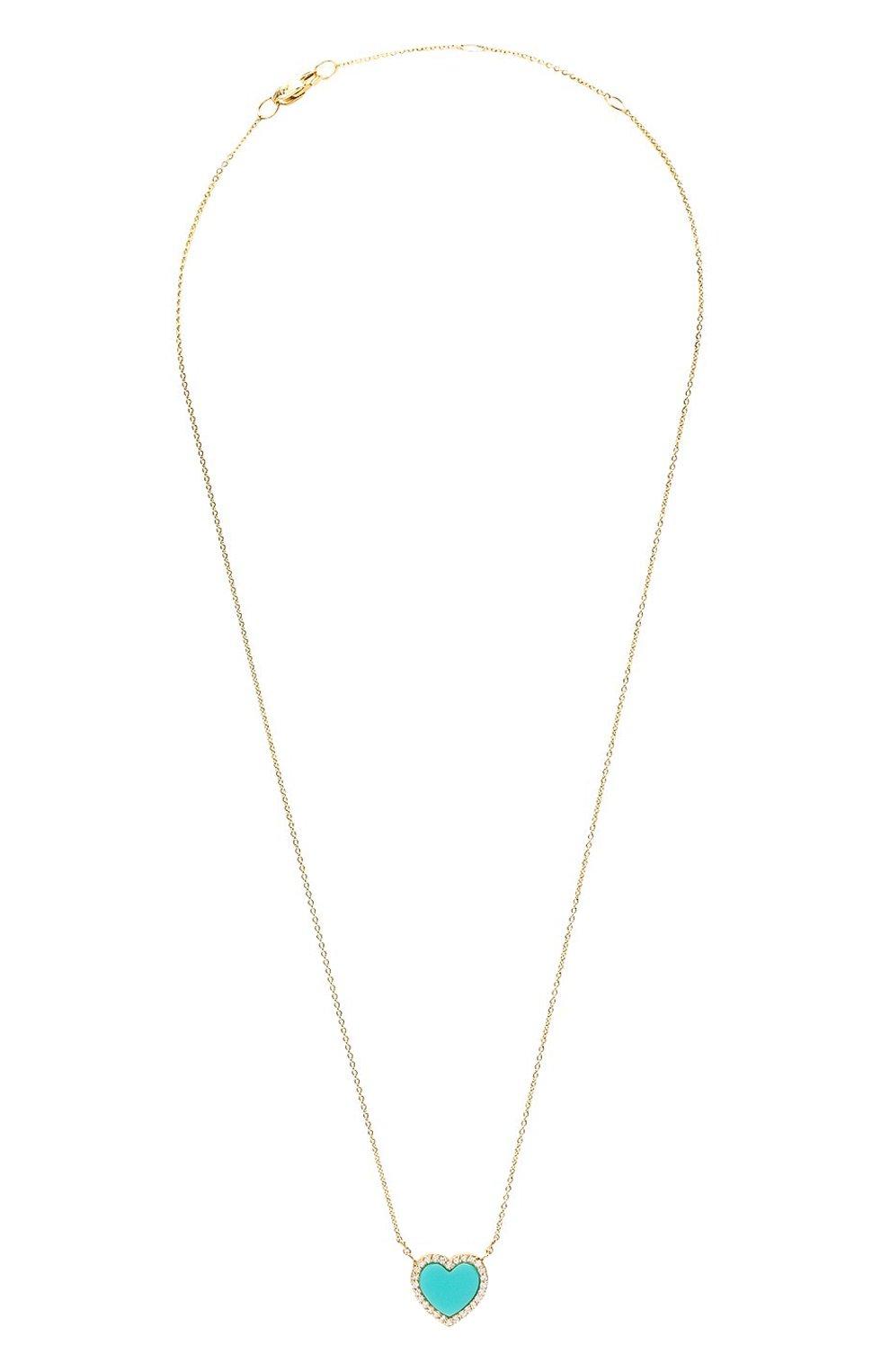 Женская колье J-POINT золотого цвета, арт. ИПГ857.12.120221.4Y   Фото 1 (Материал: Золото)