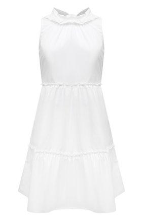 Женское хлопковое платье EVA B.BITZER белого цвета, арт. 11311989   Фото 1