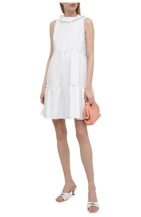 Женское хлопковое платье EVA B.BITZER белого цвета, арт. 11311989   Фото 2