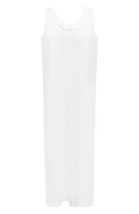Женское хлопковое платье EVA B.BITZER белого цвета, арт. 11311998   Фото 1