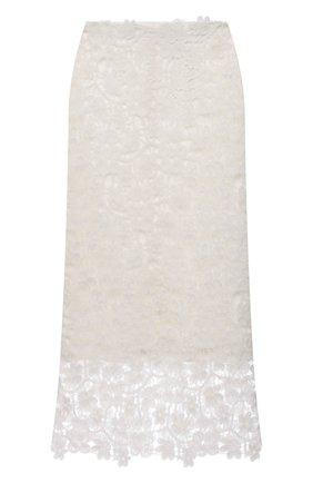 Женская юбка JIL SANDER белого цвета, арт. JSWS728306-WS447008A   Фото 1
