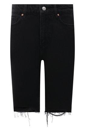 Женские джинсовые шорты PAIGE черного цвета, арт. 6994G82-2554 | Фото 1