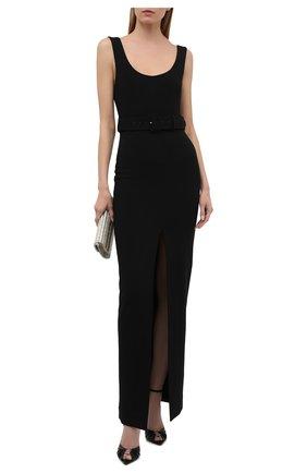 Женское платье SOLACE черного цвета, арт. 0S1135 | Фото 2