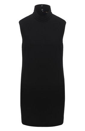 Женский шерстяной топ LORO PIANA черного цвета, арт. FAL8038 | Фото 1