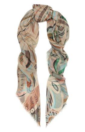 Женская кашемировая шаль LORO PIANA разноцветного цвета, арт. FAL7687   Фото 1