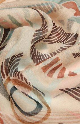 Женская кашемировая шаль LORO PIANA разноцветного цвета, арт. FAL7687   Фото 2