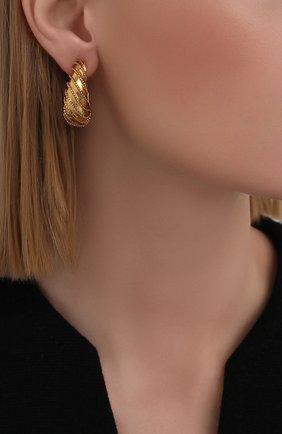 Женские серьги JENNIFER BEHR золотого цвета, арт. 111RA21   Фото 2