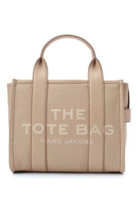 Женская сумка-тоут traveller mini MARC JACOBS (THE) бежевого цвета, арт. H009L01SP21   Фото 1