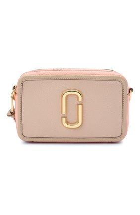 Женская сумка the softshot 21 MARC JACOBS (THE) розового цвета, арт. H109L01SP21   Фото 1