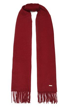 Женский кашемировый шарф grande unita LORO PIANA бордового цвета, арт. FAA1056 | Фото 1