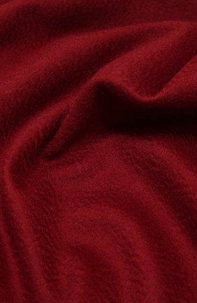 Женский кашемировый шарф grande unita LORO PIANA бордового цвета, арт. FAA1056 | Фото 2