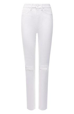 Женские джинсы DENIM X ALEXANDER WANG белого цвета, арт. 4DC2214928   Фото 1