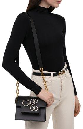 Женская сумка off OFF-WHITE черного цвета, арт. 0WNN003S21LEA002 | Фото 2