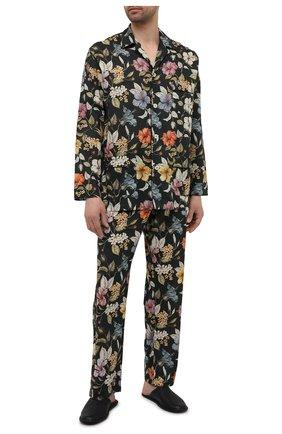 Мужская хлопковая пижама ROBERTO RICETTI разноцветного цвета, арт. PIGIAMA VENEZIA LUNG0/0R02606 | Фото 1 (Длина (для топов): Стандартные; Длина (брюки, джинсы): Стандартные; Материал внешний: Хлопок; Рукава: Длинные; Кросс-КТ: домашняя одежда)