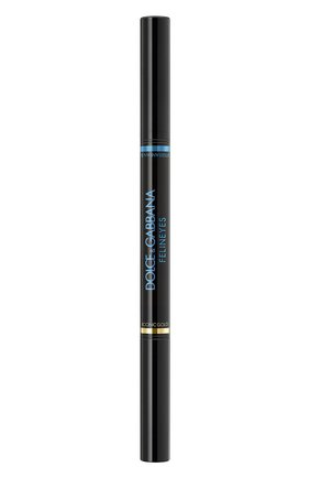 Двухцветные пудровые тени felineyes, mediterranean blue DOLCE & GABBANA бесцветного цвета, арт. 30701100DG | Фото 1