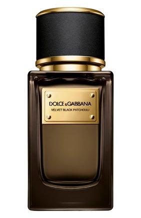 Парфюмерная вода velvet collection black patchouli  (50ml) DOLCE & GABBANA бесцветного цвета, арт. 30700443DG | Фото 1 (Ограничения доставки: flammable)