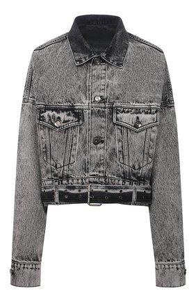 Женская джинсовая куртка DANIILBERG серого цвета, арт. DJ004 | Фото 1