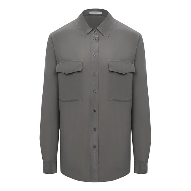 Шелковая рубашка BOSS