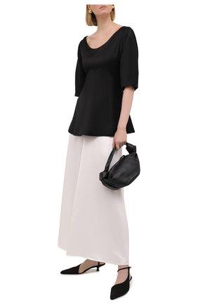 Женская юбка из вискозы EMILIO PUCCI белого цвета, арт. 1HRW01/1H625 | Фото 2