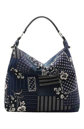 Женский сумка-шопер RALPH LAUREN синего цвета, арт. 435844723 | Фото 1 (Материал: Текстиль; Сумки-технические: Сумки-шопперы; Размер: large)