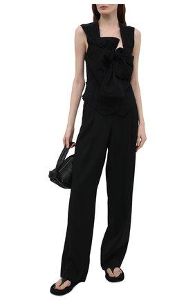 Женский жилет Y`S черного цвета, арт. YD-V01-010 | Фото 2