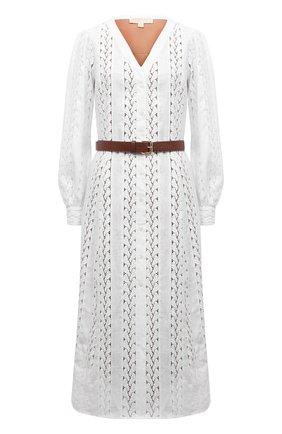 Женское платье MICHAEL MICHAEL KORS белого цвета, арт. MS18Y461QG | Фото 1