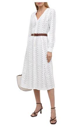 Женское платье MICHAEL MICHAEL KORS белого цвета, арт. MS18Y461QG | Фото 2