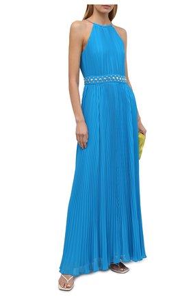 Женское платье MICHAEL MICHAEL KORS голубого цвета, арт. MS1806L7R3 | Фото 2