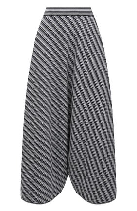 Женские шорты-бермуды GIORGIO ARMANI серого цвета, арт. 6KAN01/AM54Z   Фото 1