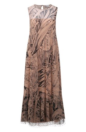 Женское шелковое платье REDVALENTINO разноцветного цвета, арт. VR0VAZ95/5SP | Фото 1