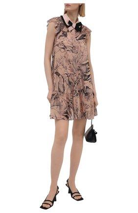 Женское шелковое платье REDVALENTINO разноцветного цвета, арт. VR0VAAC5/5SQ | Фото 2