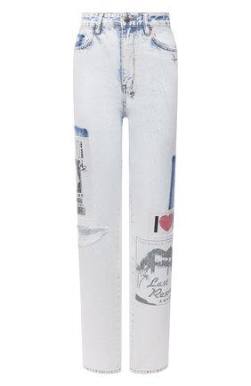 Женские джинсы KSUBI белого цвета, арт. 5000005820   Фото 1