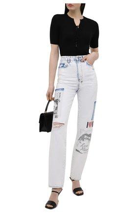 Женские джинсы KSUBI белого цвета, арт. 5000005820   Фото 2