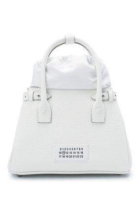Женская сумка 5ac MAISON MARGIELA белого цвета, арт. S56WD0126/P0396 | Фото 1