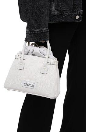 Женская сумка 5ac MAISON MARGIELA белого цвета, арт. S56WD0126/P0396 | Фото 2